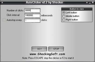 Автокликер на 2 кнопки