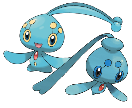 Biología Pokémon (Un poco friki, pero vale la pena el intento :)) Manaphyphione